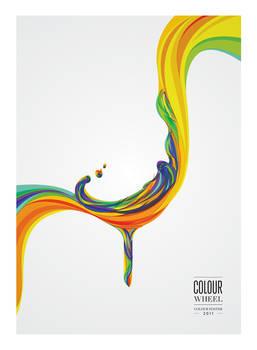 Colour Wheel Poster 2011