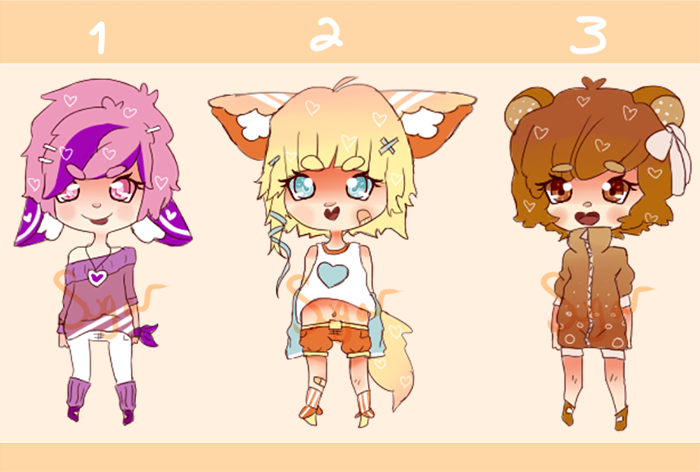 Adopts OPEN by sugarbearkitty