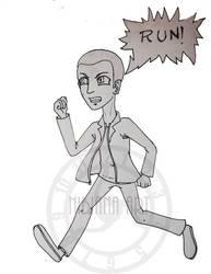 Doctor Nine-Run! by AxelOfArt