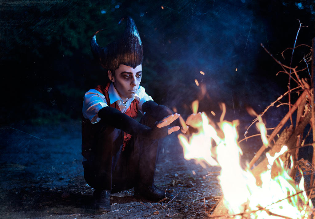 Don't Starve: Wilson cosplay
