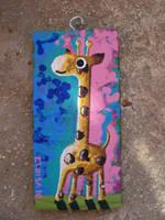 Mini jirafa by elocha
