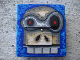 calavera robot 7 by elocha