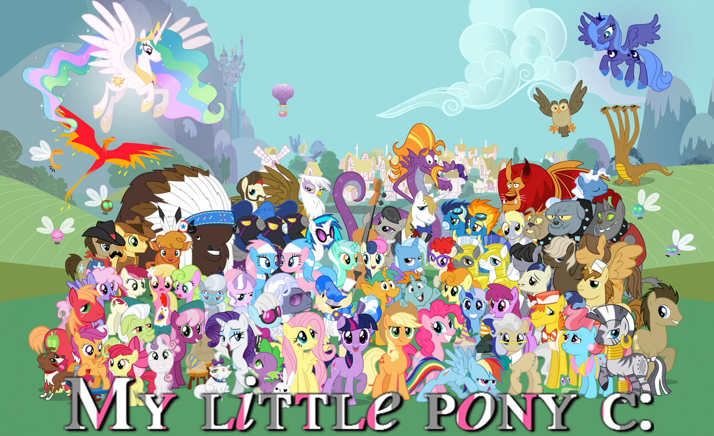 Foto my little pony : friendship is magic by Paayaasitaa