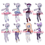 1/8 OPEN|100pts Outfit Adopts
