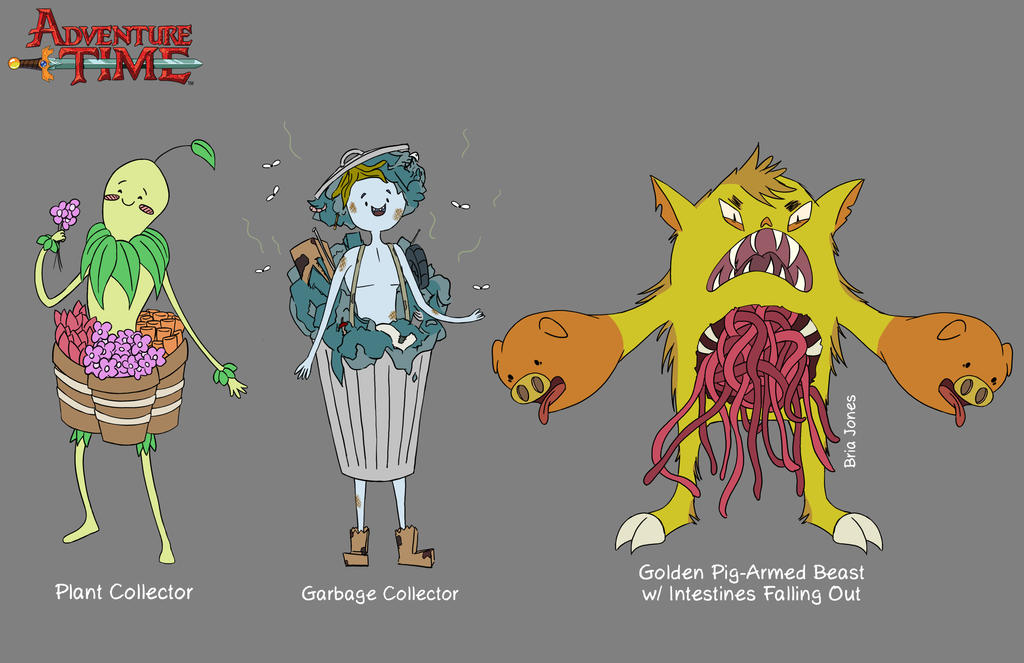 Design An Adventure Time Character : Adventure time character designs by crazyfroggster on