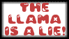THE LLAMA IS A LIE by work-is-play