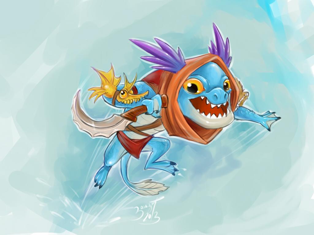 chibi slark by patbanzer on deviantart