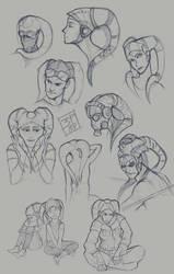 sketchs 03 Twi'leks
