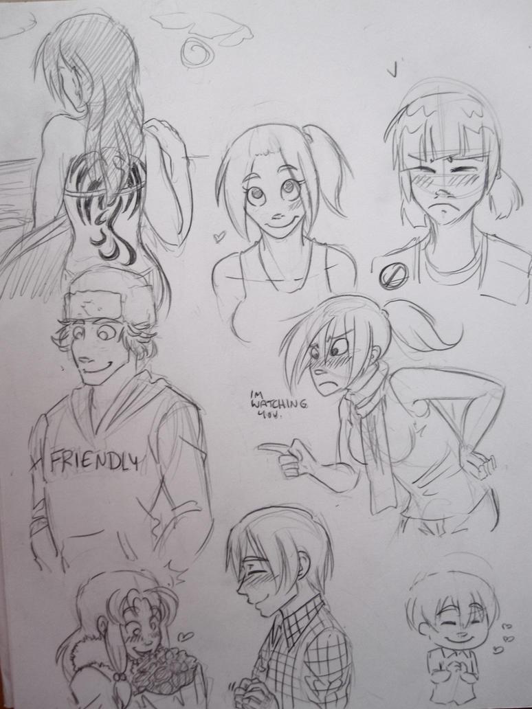IAMP doodles by arystar