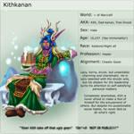Kithkanan Character Profile