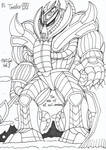 The titan Teridax by HeinztheBlueGiant