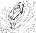 The evil titan Teridax of Spherus Magna by HeinztheBlueGiant