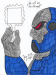 Darkseid, the ultimate villain!! by HeinztheBlueGiant