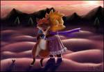 Lisa and Fox
