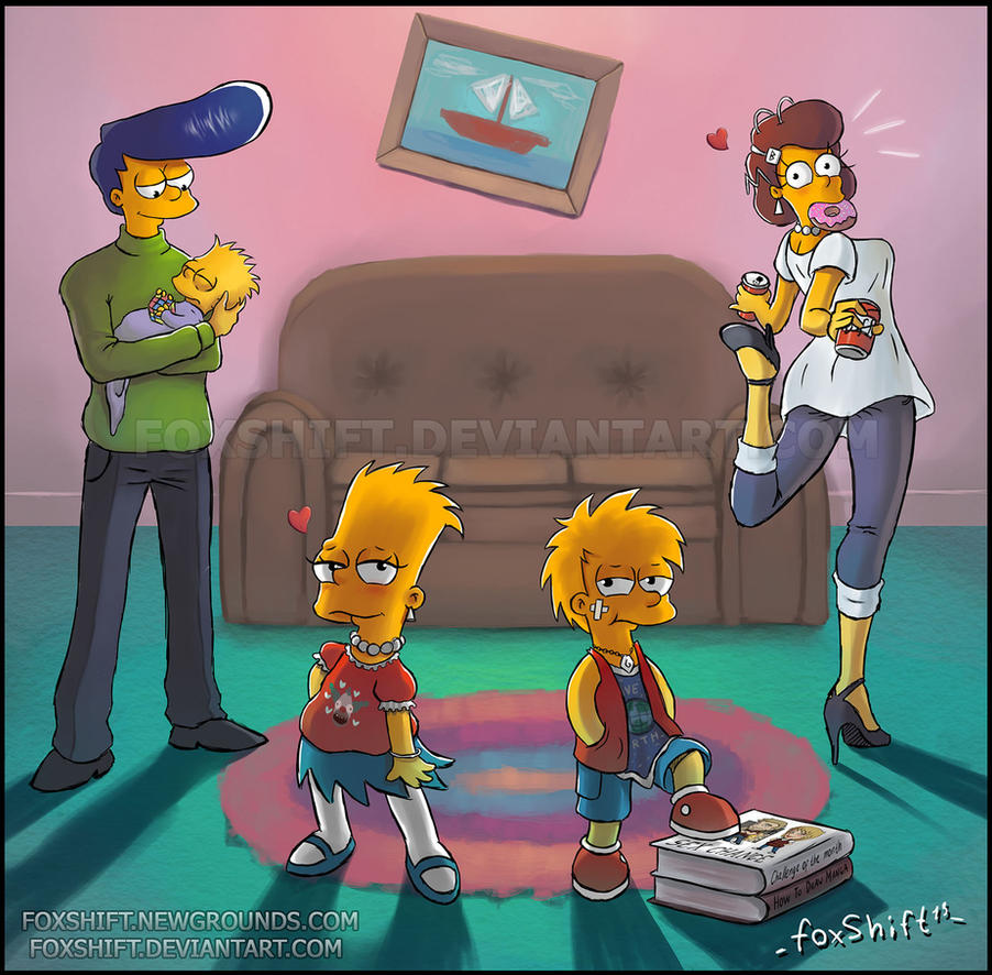 The Simpsons (COTM1 - sex change) by FoxShift