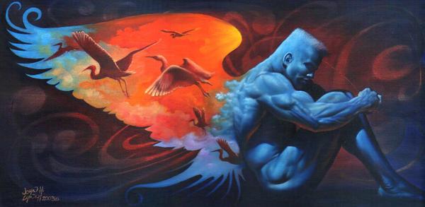 Cerulean Blue by JohnHLynch