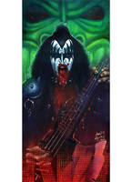 Gene Simmons by JohnHLynch