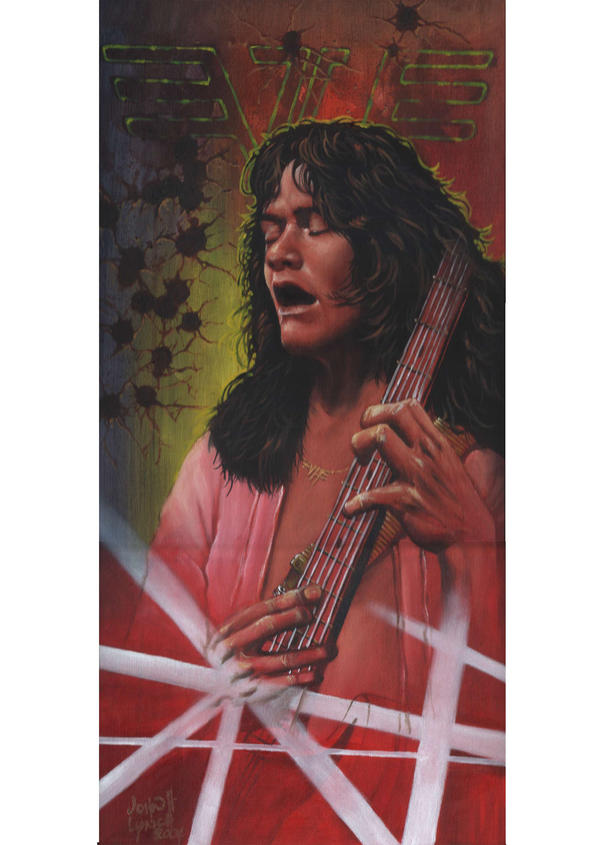 Eddie Van Halen by JohnHLynch
