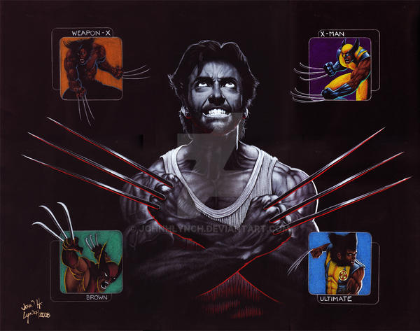Wolverine Origins by JohnHLynch