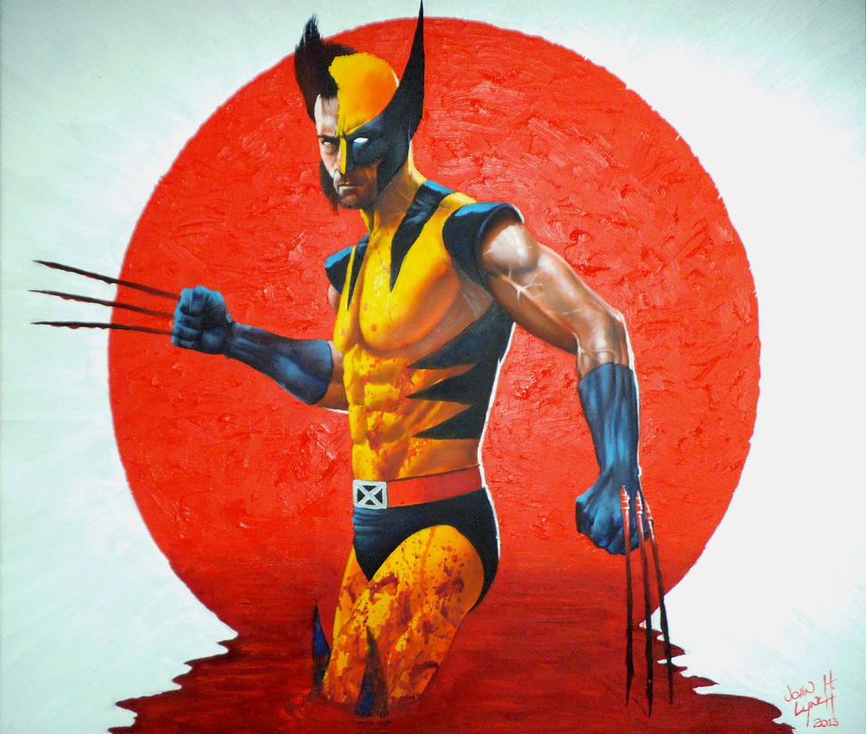 Wolverine Bloodlust sml by JohnHLynch