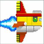 Flutter pixel art by BalamLord