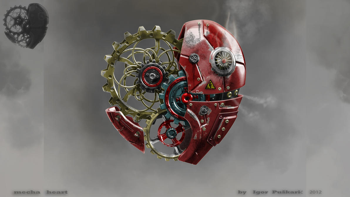 Mecha heart by Iggy-design