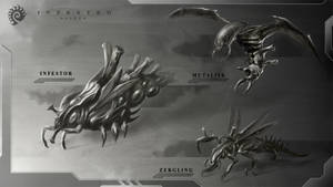 Alien Starcraft sketch by Iggy-design