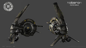Fighter nebule textured