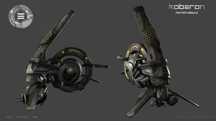 Fighter nebule textured by Iggy-design