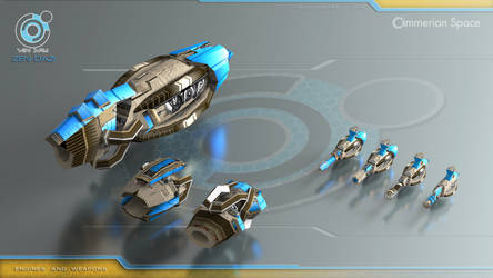 Zen Dazi engines and weapons