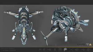 Drone V5 rear by Iggy-design