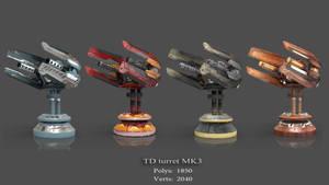 TD Turret MK3 by Iggy-design