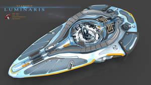 Luminaris starship by Iggy-design