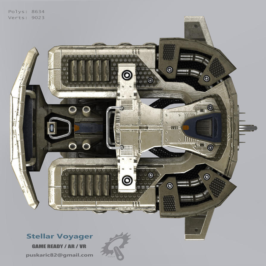 Stellar Voyager top view by Iggy-design