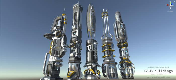 SciFi modular buildings