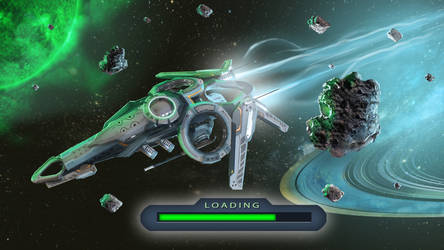 Loading screen b for Fleets of Heroes by Iggy-design