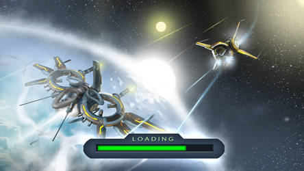 Loading screen c for Fleets of Heroes by Iggy-design