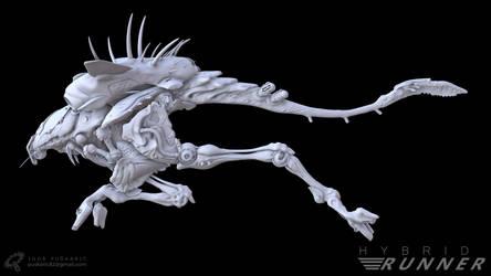 Hybrid Runner - Concept posed - Left