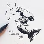 #19 Inktober 2020 - Hammerfish