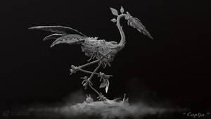 Heron-Caplja  - Grey Render
