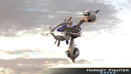Hornet Racer - Cinematic departure