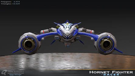 Hornet fighter - Studio Front