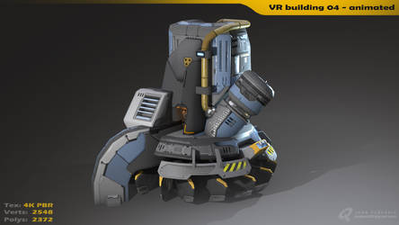 VR building 04 - Animated