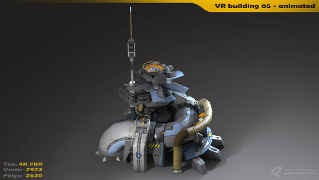 VR building 05 - Animated