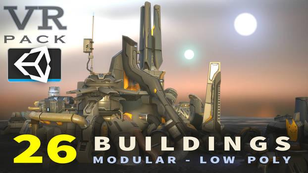 VR SciFi Buildings YT COVER
