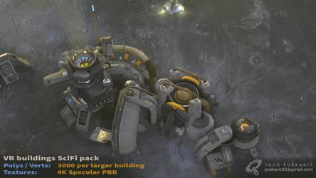 VR SciFi Buildings - complex 06