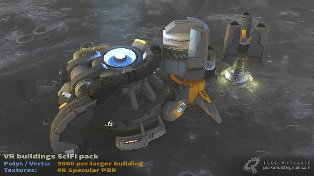 VR SciFi Buildings - complex 07