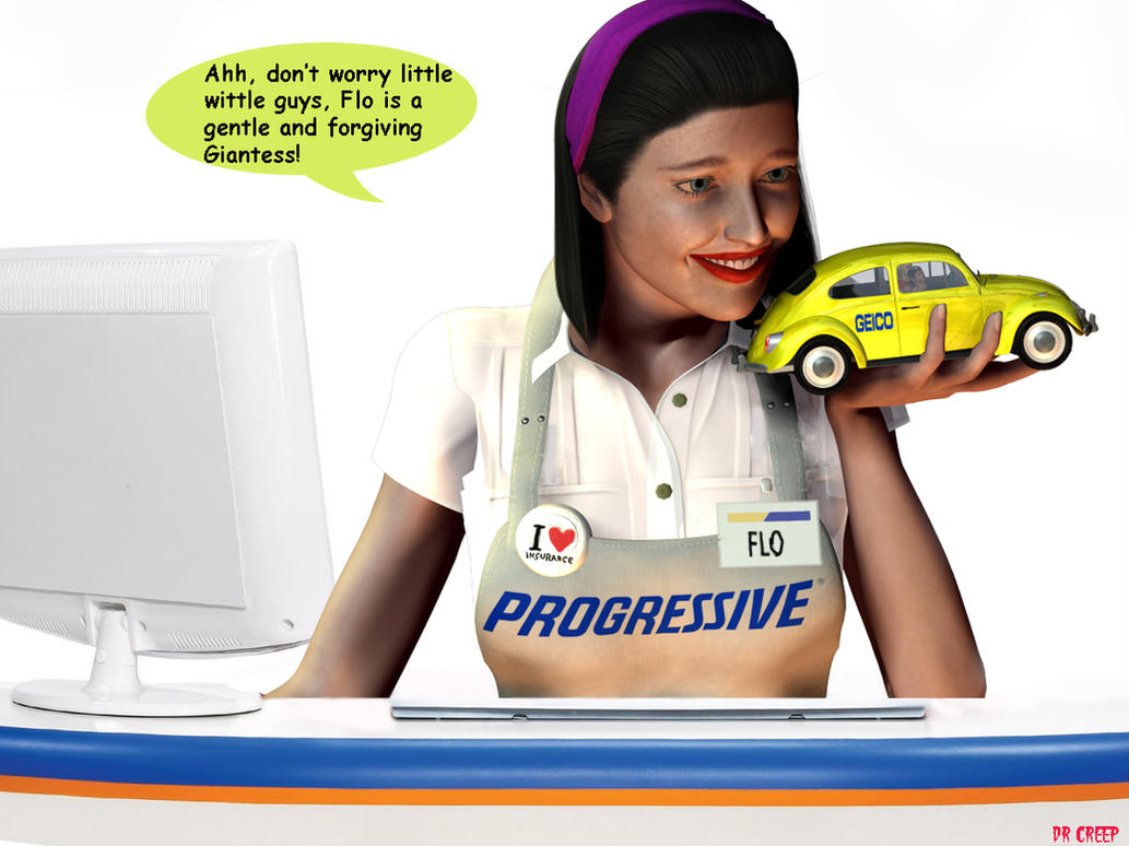 Flo confronts geico people by drcreep on deviantart for How to draw flo