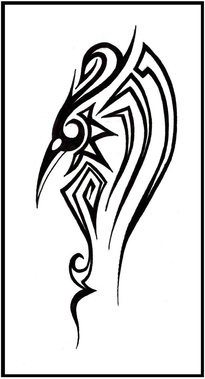 50+ Tribal Birds Tattoos  Tribal Bird Tattoos
