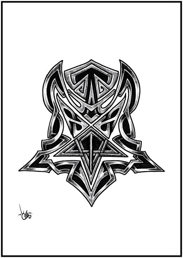 celtic pentagram by shepush on deviantart. Black Bedroom Furniture Sets. Home Design Ideas
